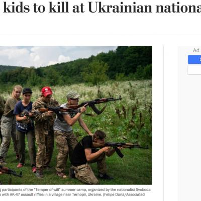 Lažna vest: Ukrajinska ministartsva finansiraju radikalne nacionalističke organizacije