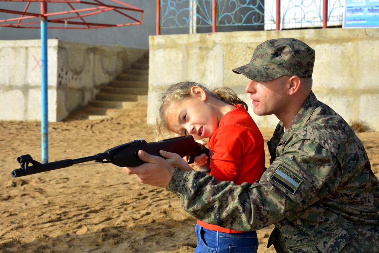 Crimea bambini soldato