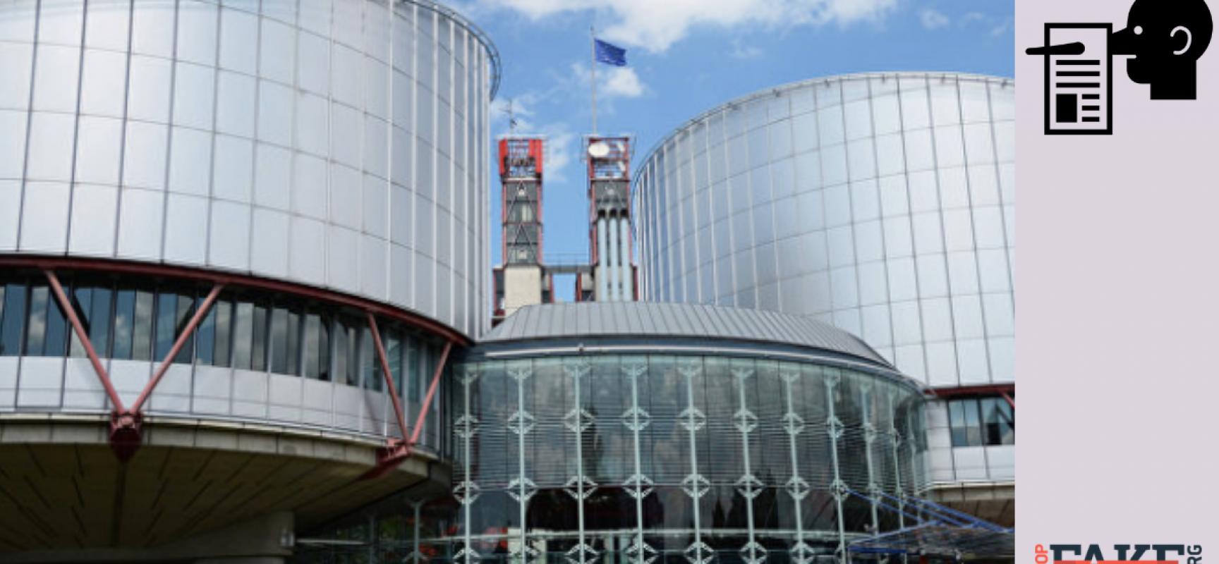 Fake: La Cour Européenne des Droits de l'Homme ne reconnaît pas les marins ukrainiens comme des prisonniers de guerre