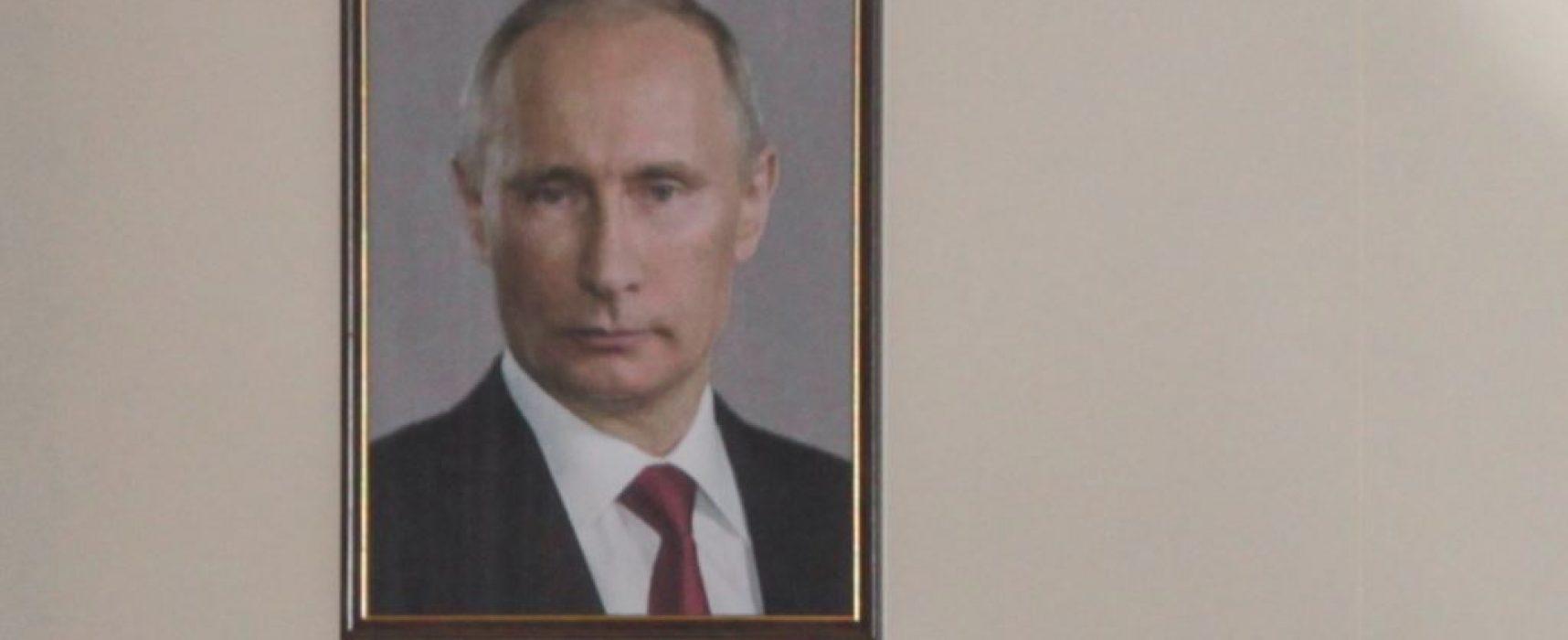 Россия: мэрия Новосибирска потратила почти 5 млн рублей на портреты Путина и фильмы о Крыме