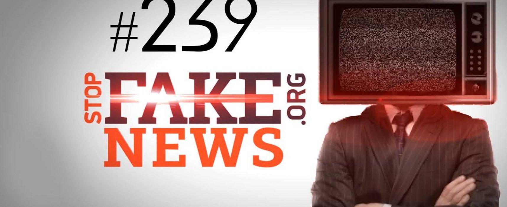 Российский Первый канал вновь опозорился на весь мир — SFN #239