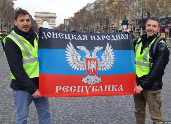 Russia deflects blame for France's Yellow Vests