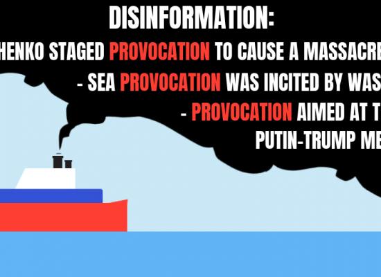 Fala dezinformacji z Morza Azowskiego