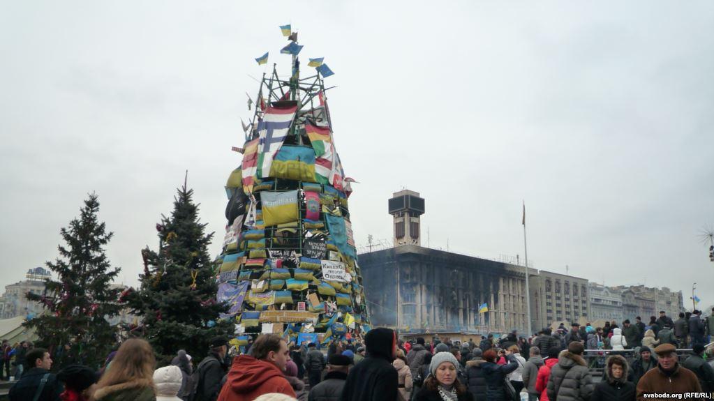 """Ukraine – der erste Tag nach dem """"Sieg"""" des Maidan in Kiew, 23. Februar 2014"""