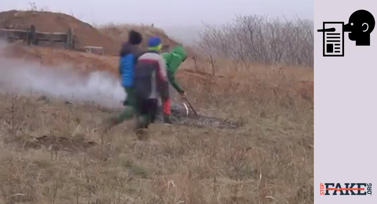 bambini costretti a scavare trincee a Mariupol