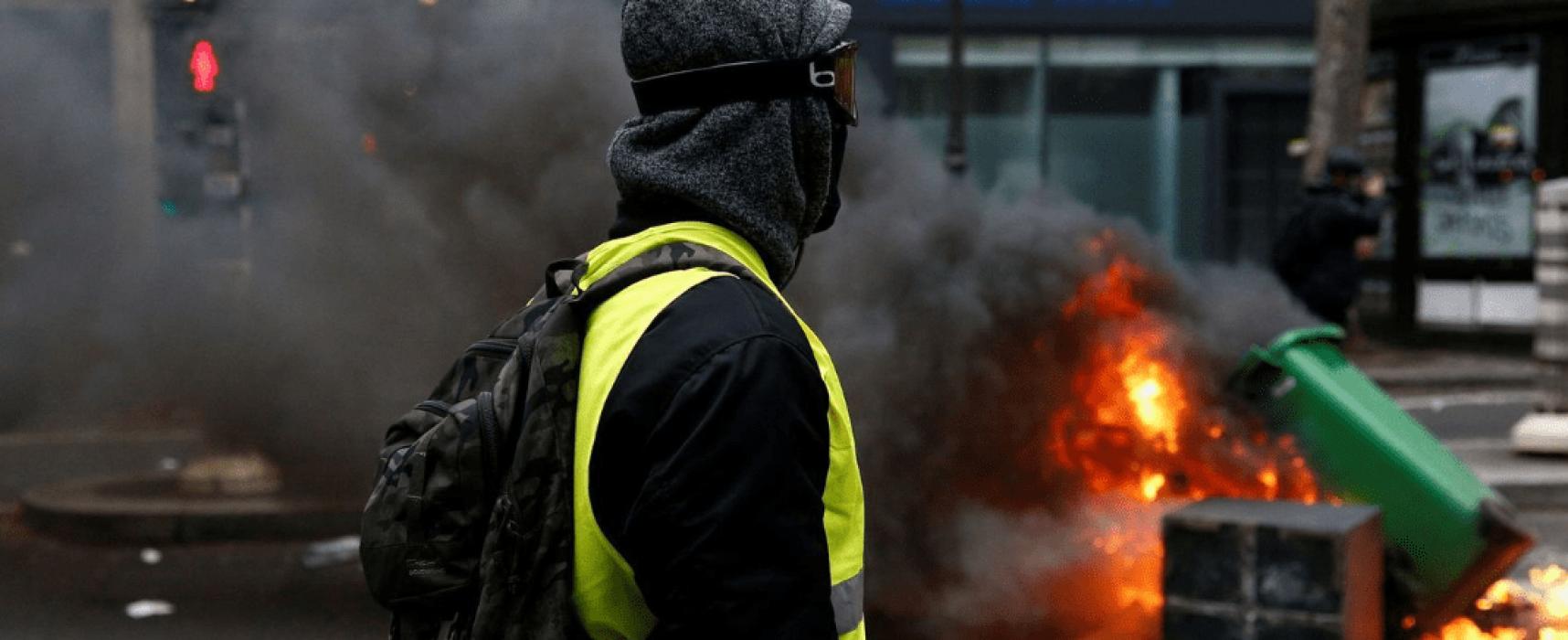 Protesty žlutých vest ve Francii a ruská propaganda
