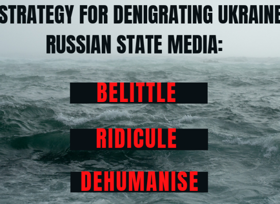 Denigrating Ukraine with disinformation