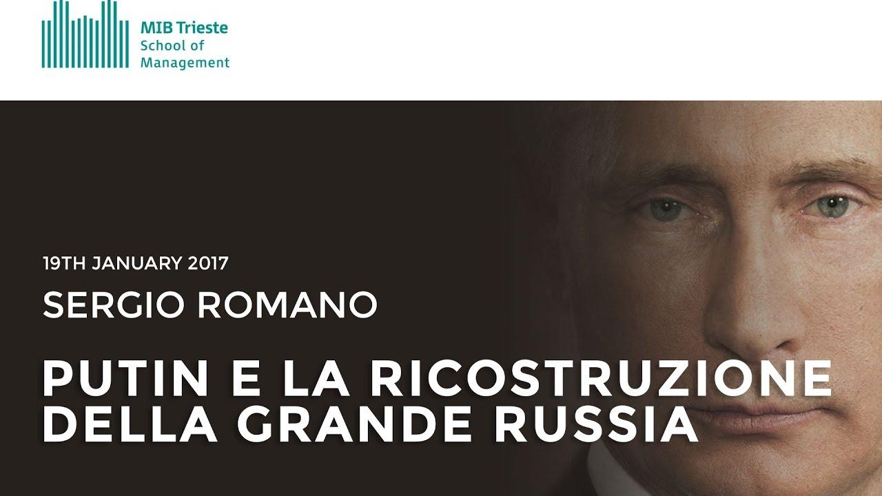 Sergio romano Putin