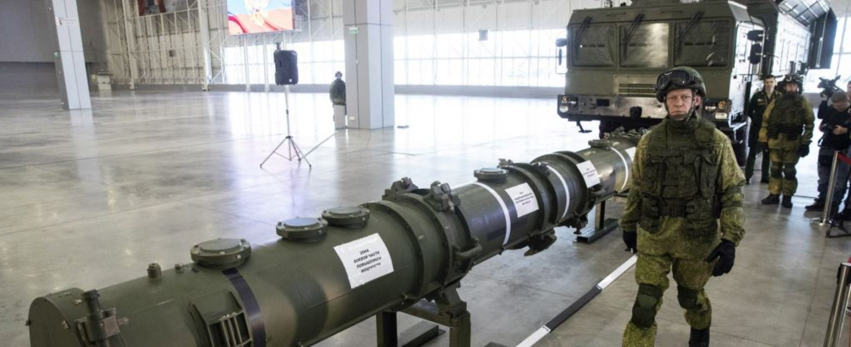 Russia demonstrates missile claiming no violation of INF – only to prove opposite