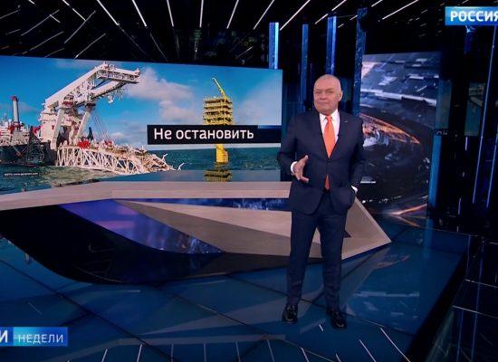 """Fake programu """"Wiesti niedieli"""": polski premier przyznał się do porażki w walce z gazociągiem Nord Stream 2"""