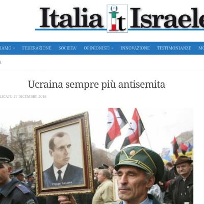 Fake: l'Ucraina sempre più antisemita