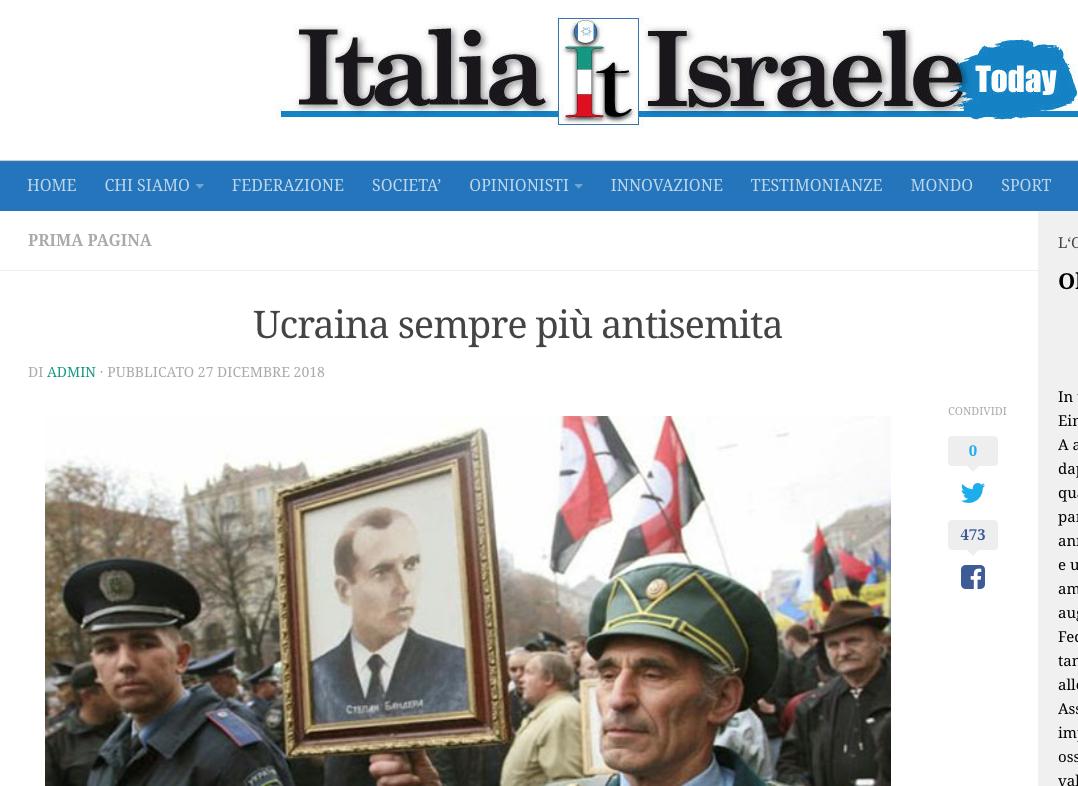fake ucraina antisemita