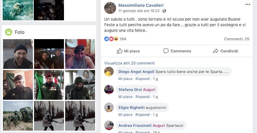 Massimiliano Cavalleri in Italia