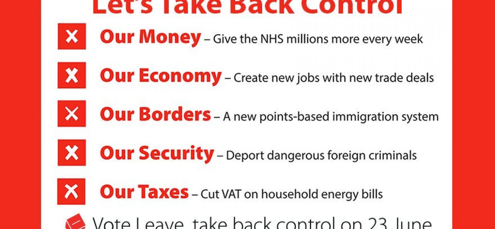 Brexit: un caso evidente dei danni provocati dalla disinformazione
