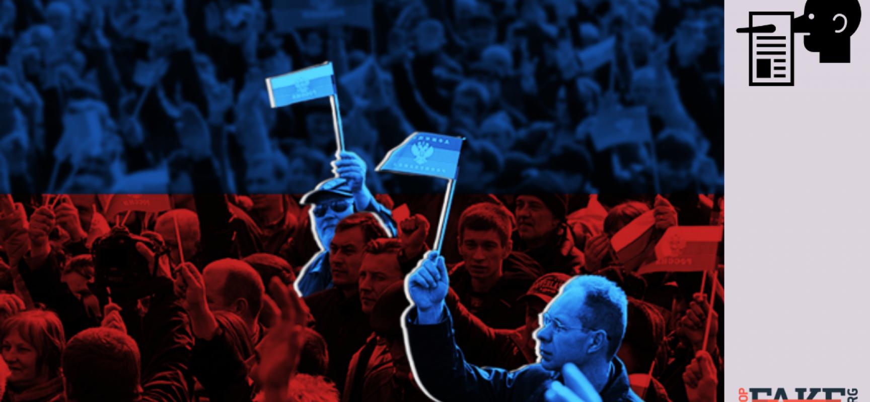 Fake : UK vuole un  presidente pro russo in Ucraina