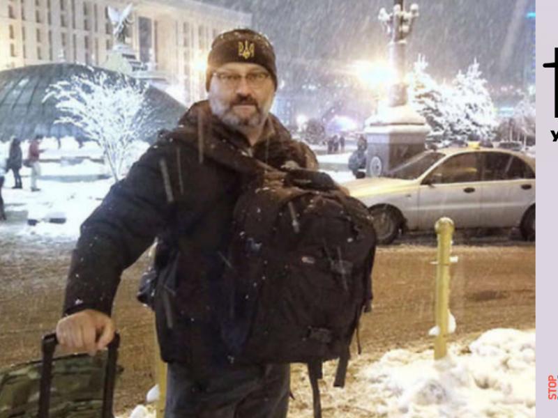 Fake : Giornalista italiano scomparso nel Donbas