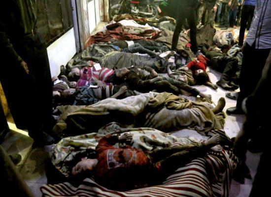 Фейк російських ЗМІ: «Світова преса визнала, що хіматак у сирійській Думі не було»