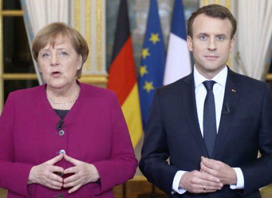 «Поменял бабушку на дедушку». Киселев и Толстой не договорились об освещении отношений Меркель и Макрона