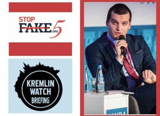 Якуб Янда: StopFake определил российскую дезинформацию как главную угрозу в глобальной повестке