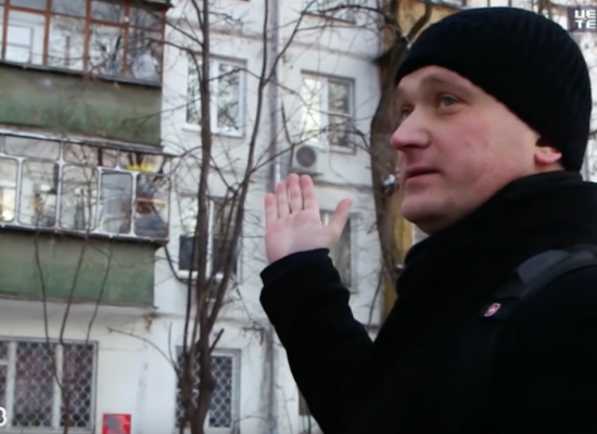 Eyewitness or actor? To Gazprom TV, it's all the same