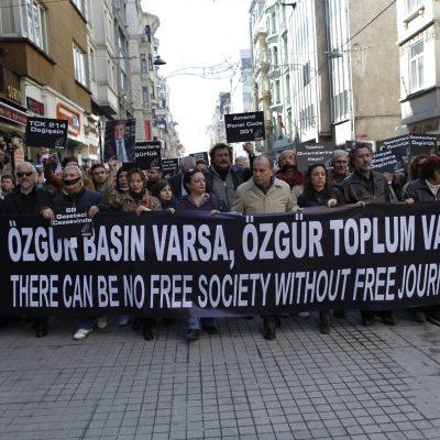La liberté de la presse toujours plus menacée en Europe