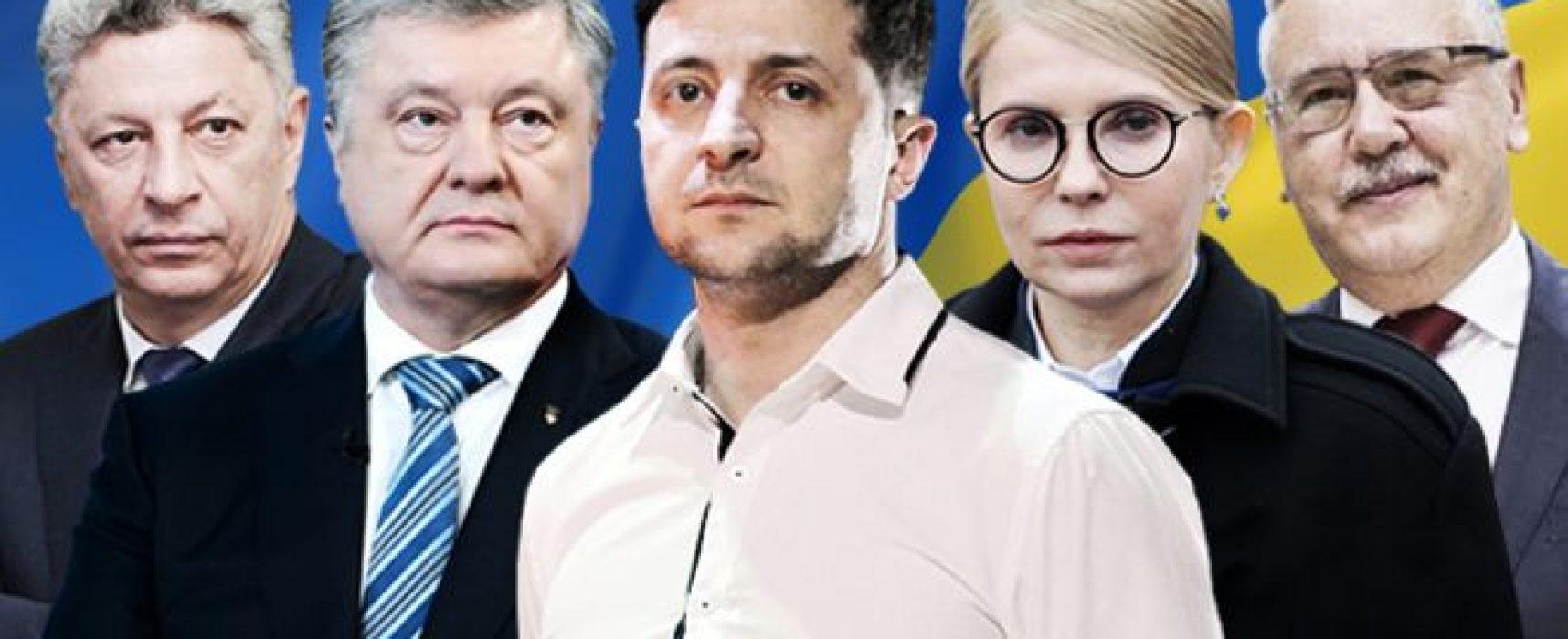 Live-Ticker zur Ukrainischen Präsidentschaftswahl