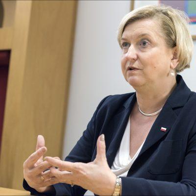 Anna Fotyga: «Las campañas de desinformación de Rusia continúan centrándose en gran medida en el este de Ucrania y Crimea»