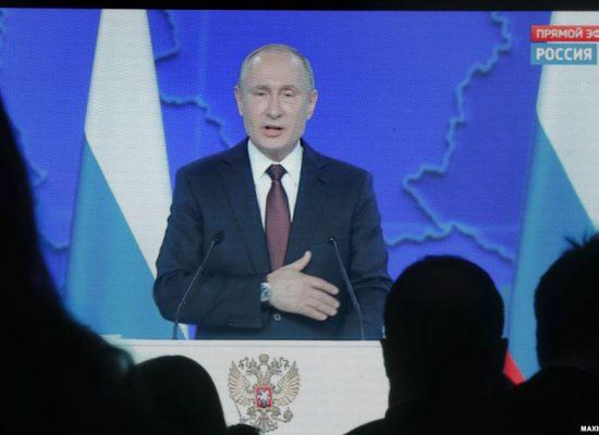 Kremlin spokesman calls U.S. congressional call to determine Putin's wealth 'Russophobia'