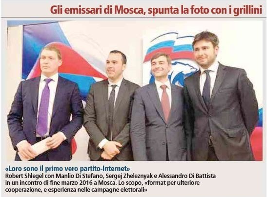 Roberto Fico a Msoca da Putin