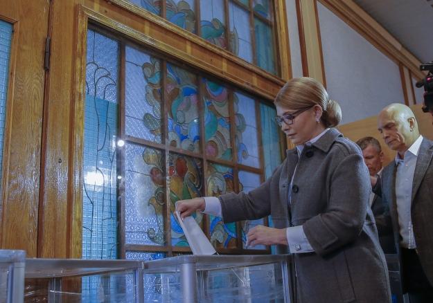 Julia Tymoschenko - Foto - Batkiwschtschina Pressedienst