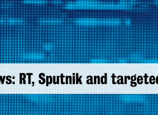 Bewaffnete Nachrichten: RT, Sputnik und gezielte Desinformationen