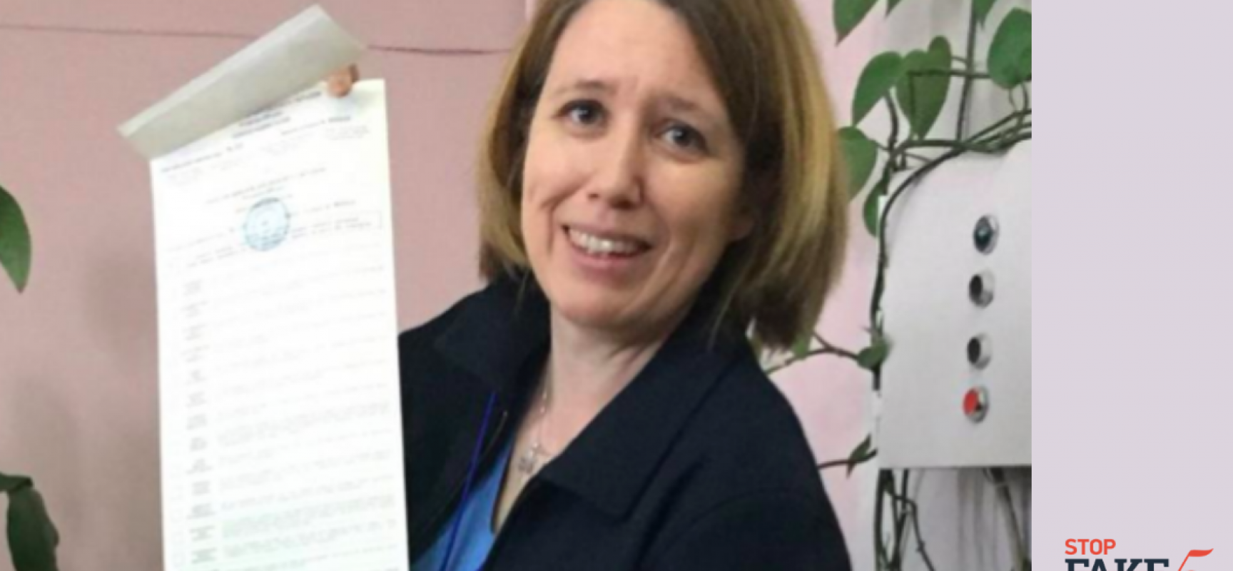 Fake: Britische Botschafterin verstößt gegen ukrainisches Wahlgesetz