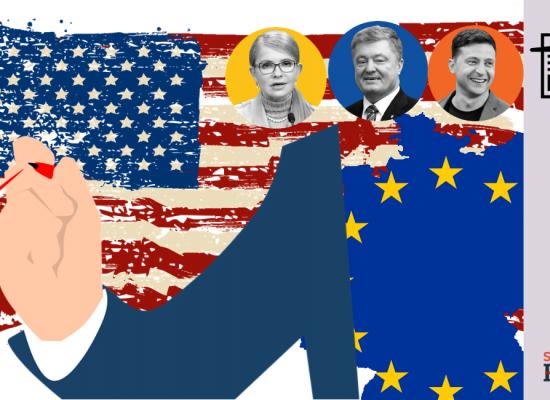 Фейк: США и ЕС руководят выборами в Украине