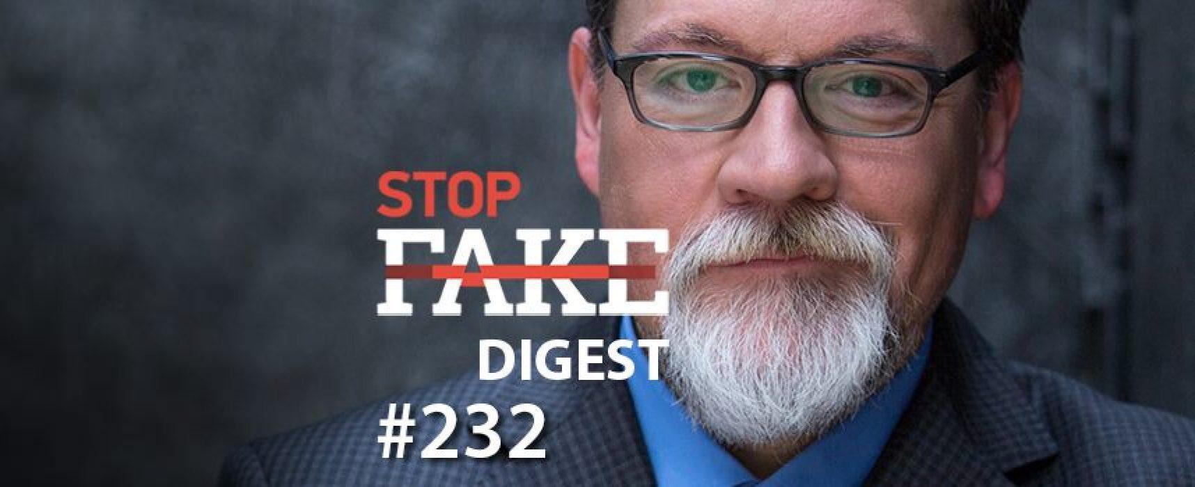 StopFake News #232 con Marko Suprun