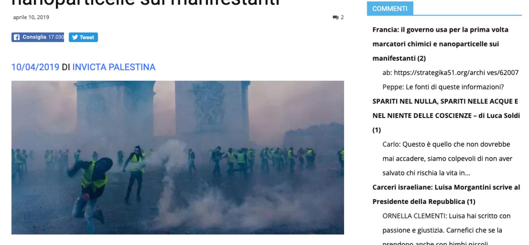 Fake : durante il Maidan sperimentarono bombe a gas contenenti LSD
