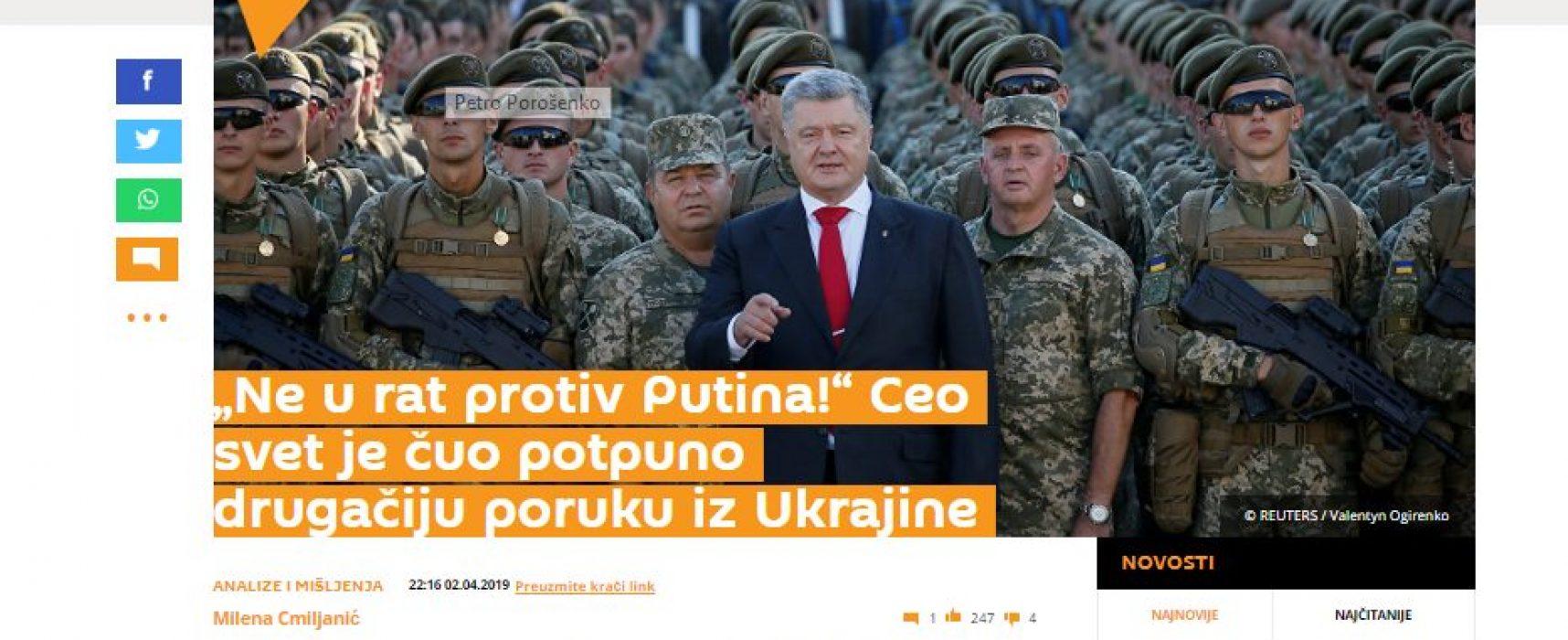 Izbori u Ukrajini kao povod za ponavljanje starih laži