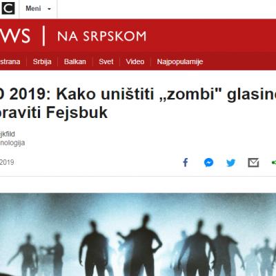 "TED 2019: Kako uništiti ""zombi"" glasine i popraviti Fejsbuk"