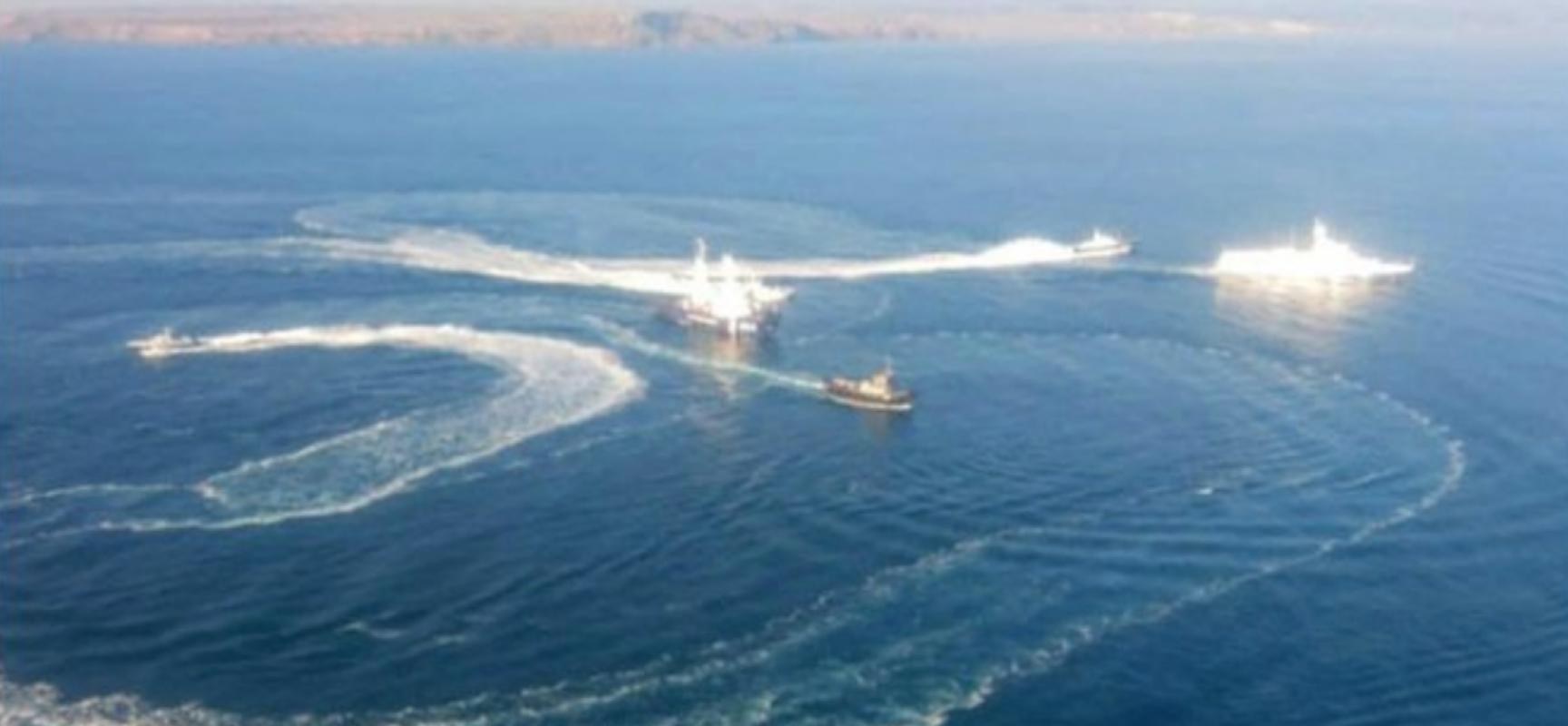 Falso: El ataque en el estrecho de Kerch fue una provocación de Ucrania