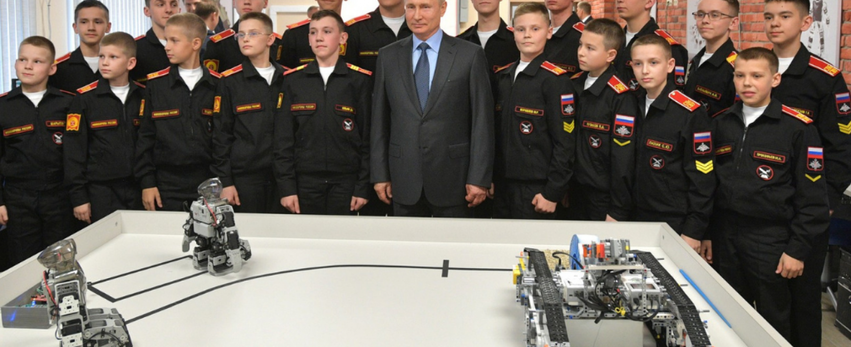 Hyped Russian robot turns out to be Korean
