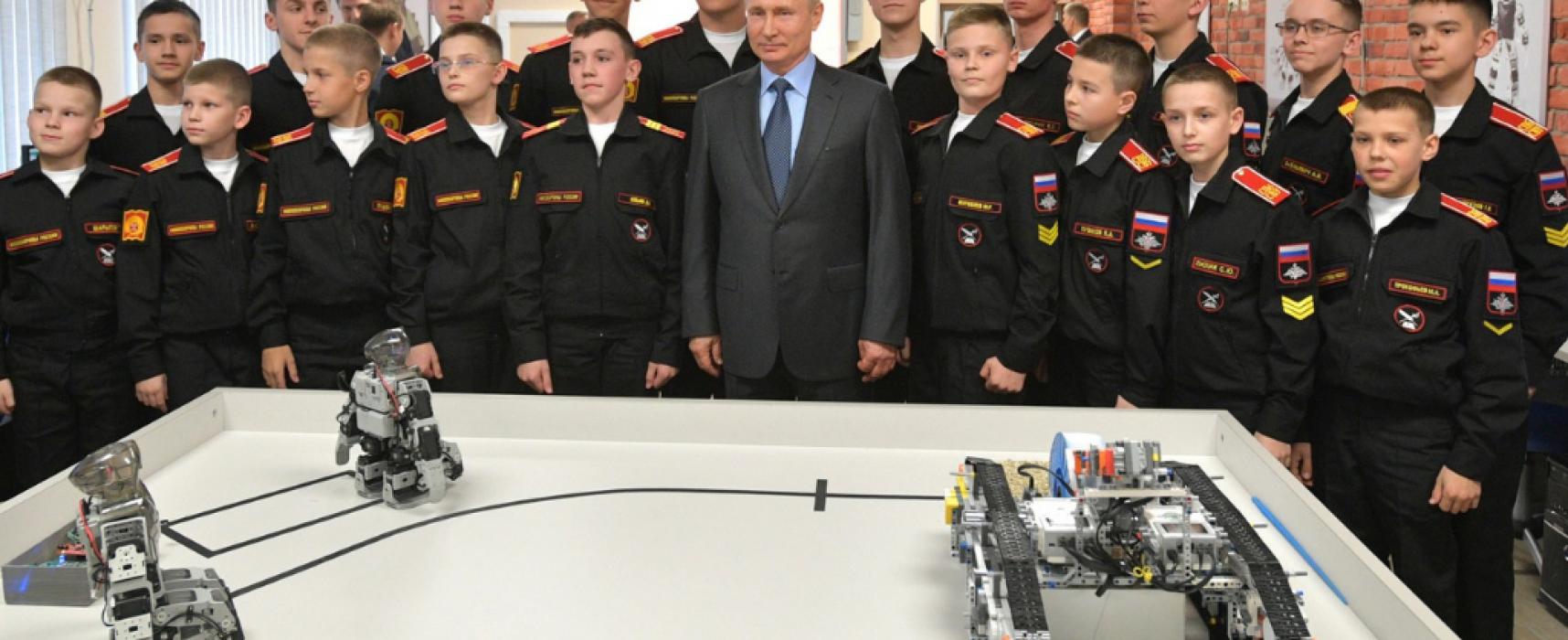 Российский военный робот оказался корейским