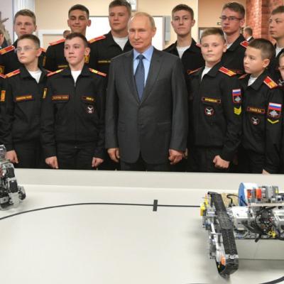Rosyjski robot wojskowy okazał się w rzeczywistości koreańskim