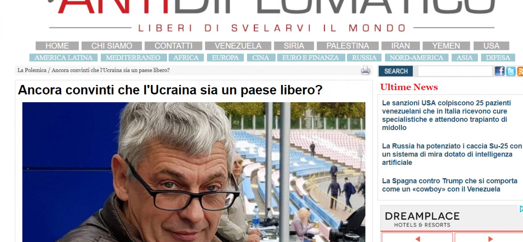 Fake: Ancora convinti che l'Ucraina sia un paese libero?