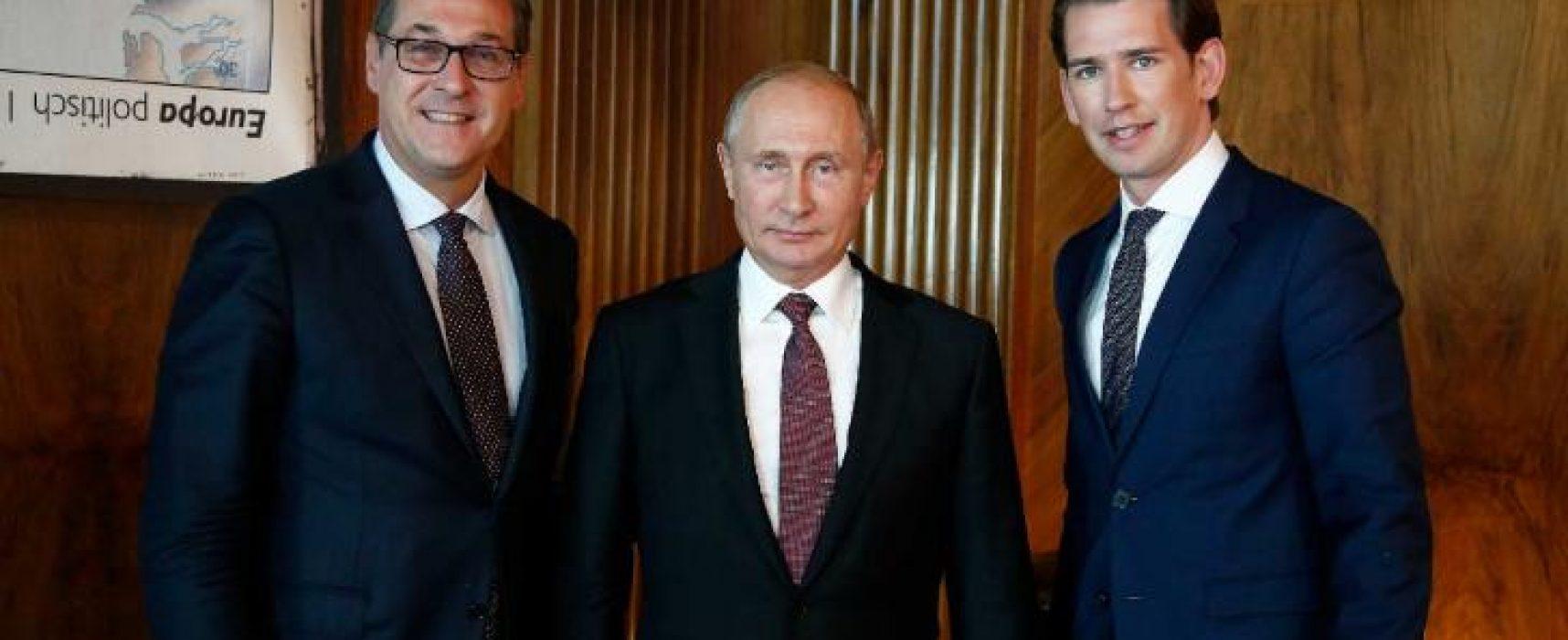 Strache verso le dimissioni dopo il video sui legami con i russi