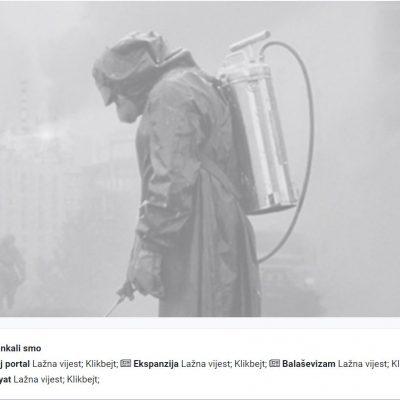 """""""Černobil"""" se ne snima ni u Zenici ni u Banja Luci"""