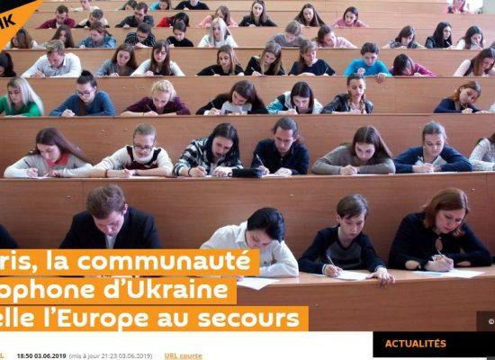 Manipulation: «A Paris les russophones d'Ukraine appellent l'Europe au secours»