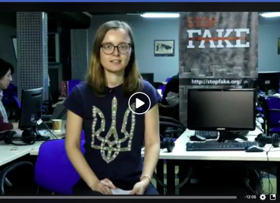 Las noticias falsas durante el día de las elecciones presidenciales de Ucrania