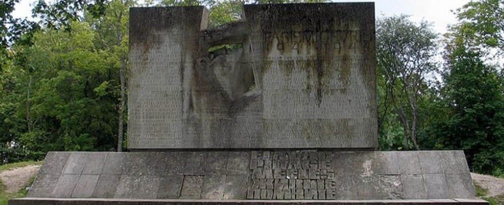 Фейк РИА «Новости»: в Естонії назвали «малоцінним» сплюндрований пам'ятник жертвам фашизму