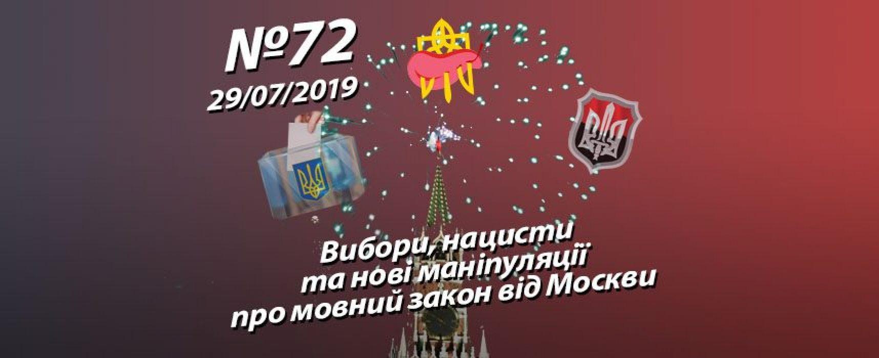 Вибори, нацисти та нові маніпуляції про мовний закон від Москви – StopFake.org