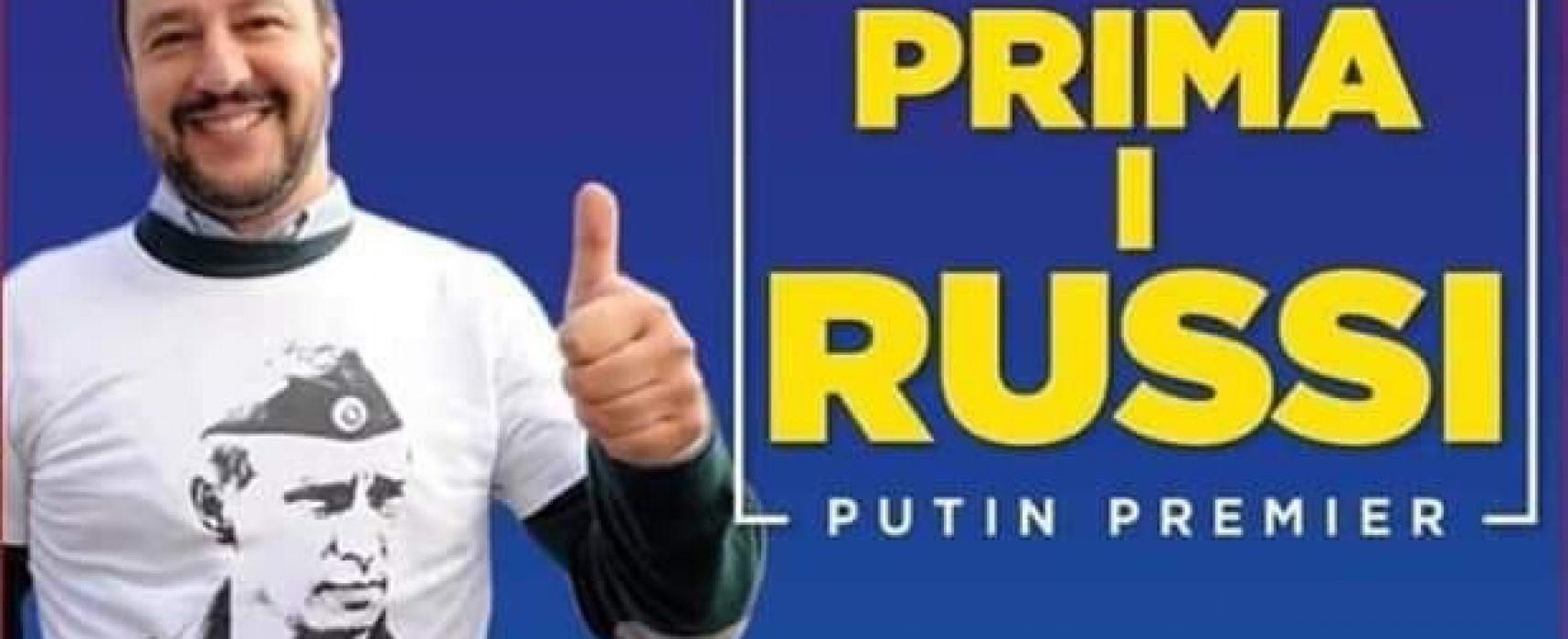"Salvini e la ""campagna d'Ucraina"""