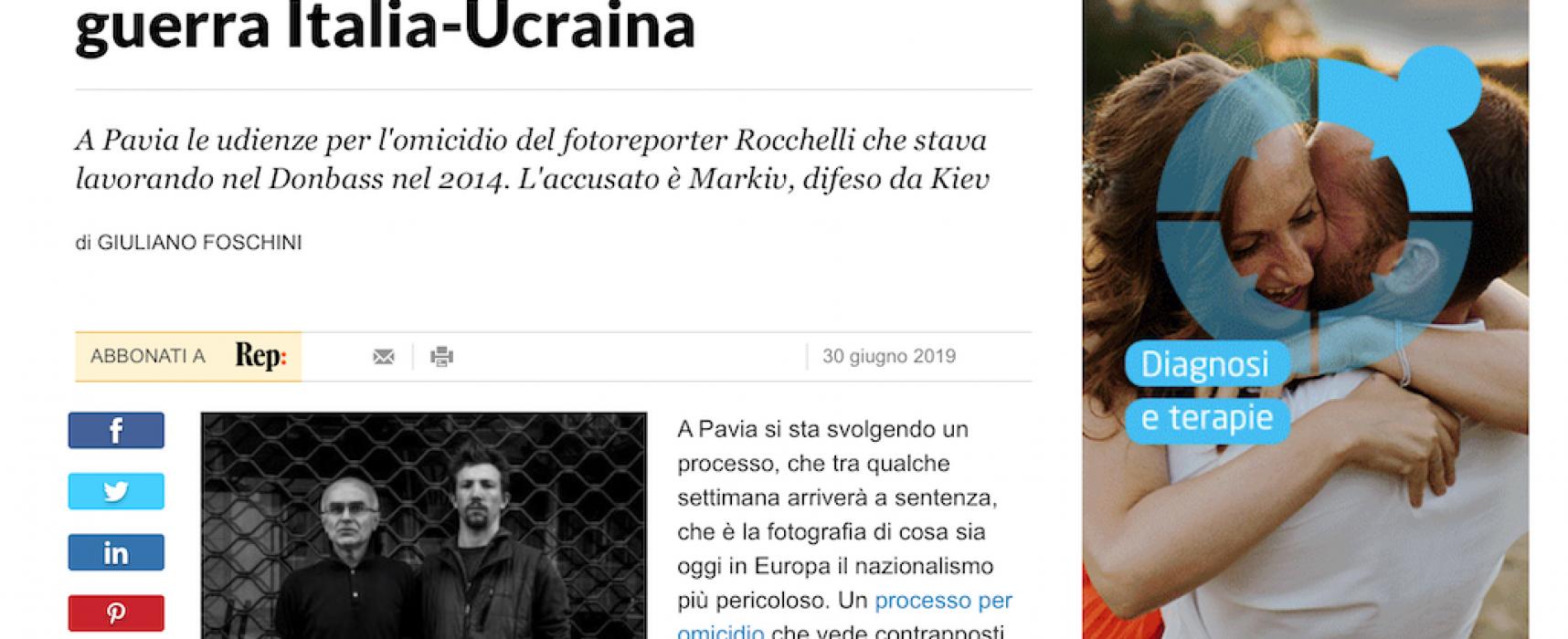 Fake:Quel processo diventato una guerra Italia-Ucraina